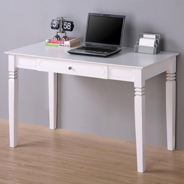 Elegant Wood Desk Keyboard Tray White Dcg Stores