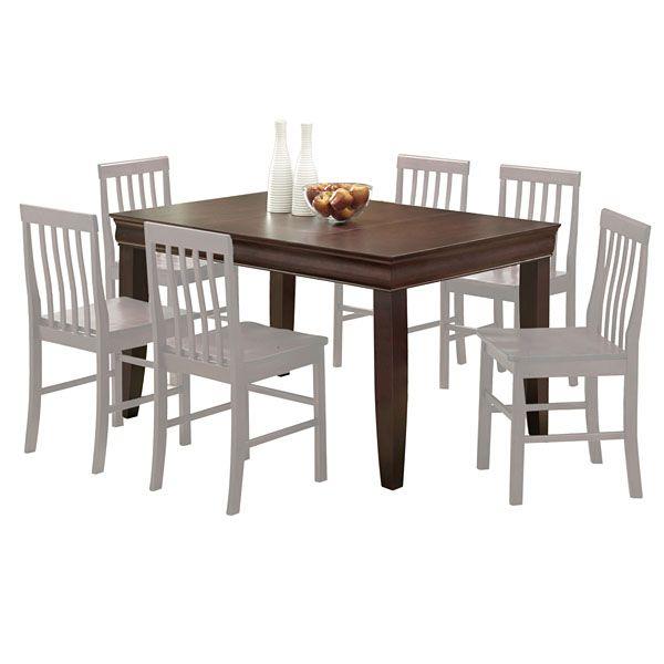 Ashlyn 60 Inch Dining Table in Espresso