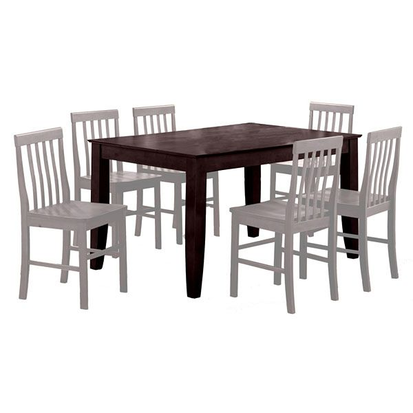 Abigail 60 Inch Dining Table in Espresso