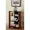Regal Component Stand / Display Shelf - Black Glass, Cherry - WAL-V35MWF