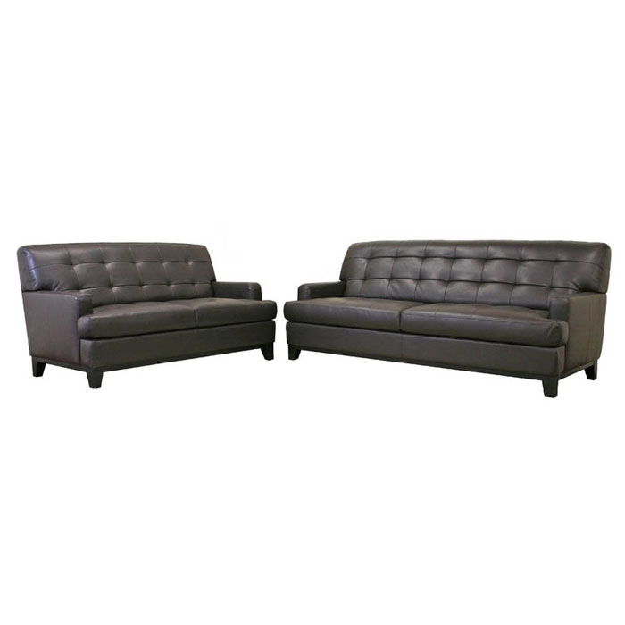 Adair Leather Modern Sofa Set - WI-1287-X