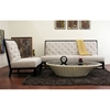 Bristol Tufted Light Grey Linen Sofa and Chair Set - WI-2363-C279-2PC