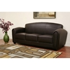 Sally Brown Leather Modern Sofa - WI-3007-206