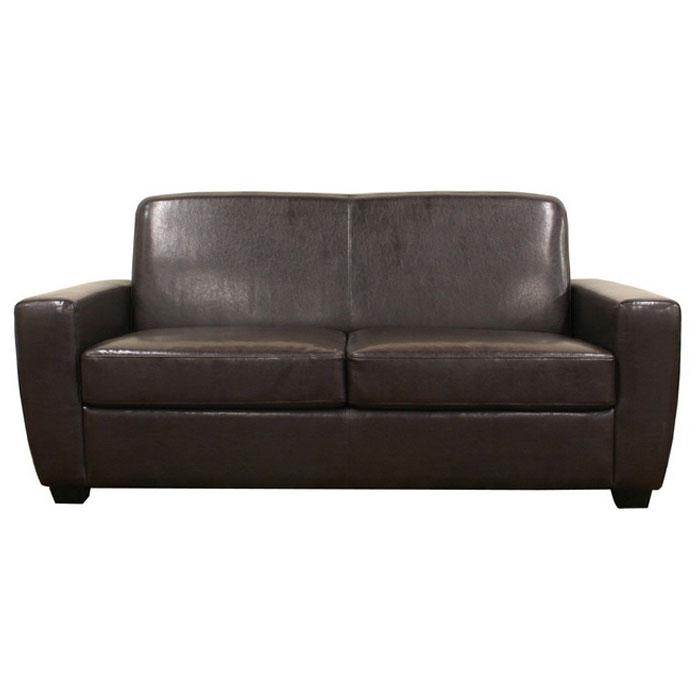 Convertible Sofa Bed Miami: Ballard Dark Espresso Modern Sofa Sleeper
