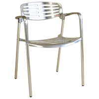 Ethan Contemporary Aluminum Chair
