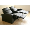 Cannes 2-Seat Leather Home Theater Seating - WI-8326-2-SEAT