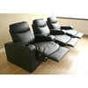 Cannes 3-Seat Leather Home Theater Seating - WI-8326-3-SEAT