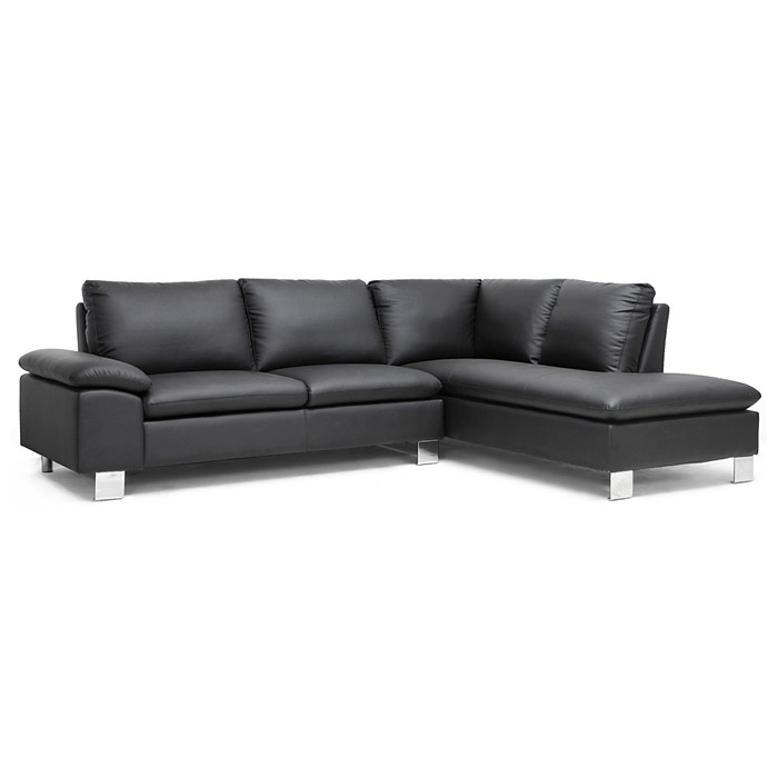 Toria Chaise Sectional Sofa