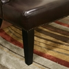 Taft Leather Wing Chair - WI-A-172-X