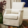 Carradine Beige Linen Modern Club Chair - WI-A-620-CW-018