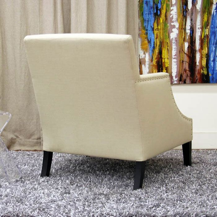 ... Heddery Cream Fabric Club Chair   WI A 731 C 232 ...