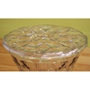 Dolly Clear Drum Stool - WI-AC74667