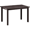 Andrew Modern Dining Table - Dark Brown - WI-ANDREW-DINING-TABLE