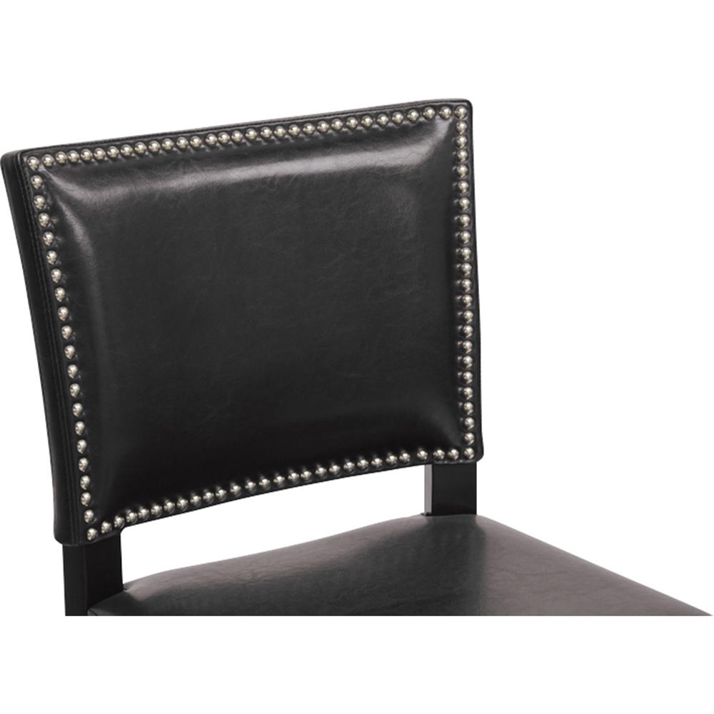 Aries Nailhead Bar Stool Black Set Of 2 Dcg Stores