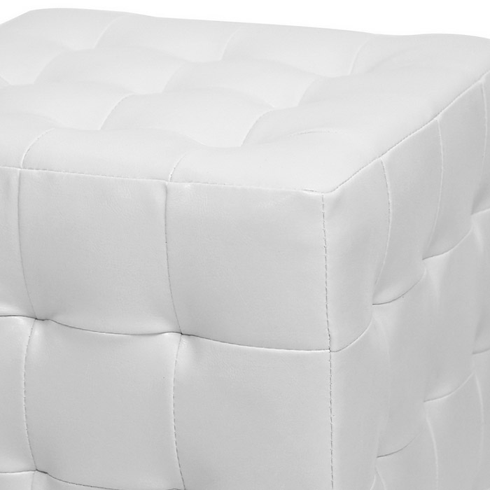 how to make a tufted ottoman cube