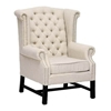 Sussex Beige Linen Club Chair - WI-BH-63102