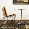 Bliss Stackable Molded Plywood Modern Dining Chair - WI-BLISS-CH