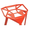 Kaysa 31.75'' Modern Aluminum Bar Stool - Stackable, Red - WI-BS-363-RED