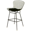 Bertoia Style Wire Barstool in Black - WI-BS83401