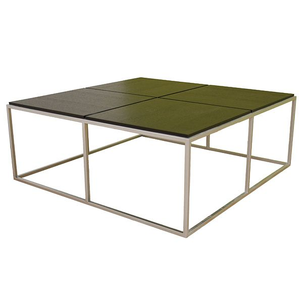 Pavlova contemporary square coffee table dcg stores Metal square coffee table