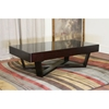 Colfax Wenge Wood Coffee Table with Storage - WI-C125-WE