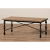 Julian Occasional Coffee Table - Brown, Black - WI-CA-1127-CT