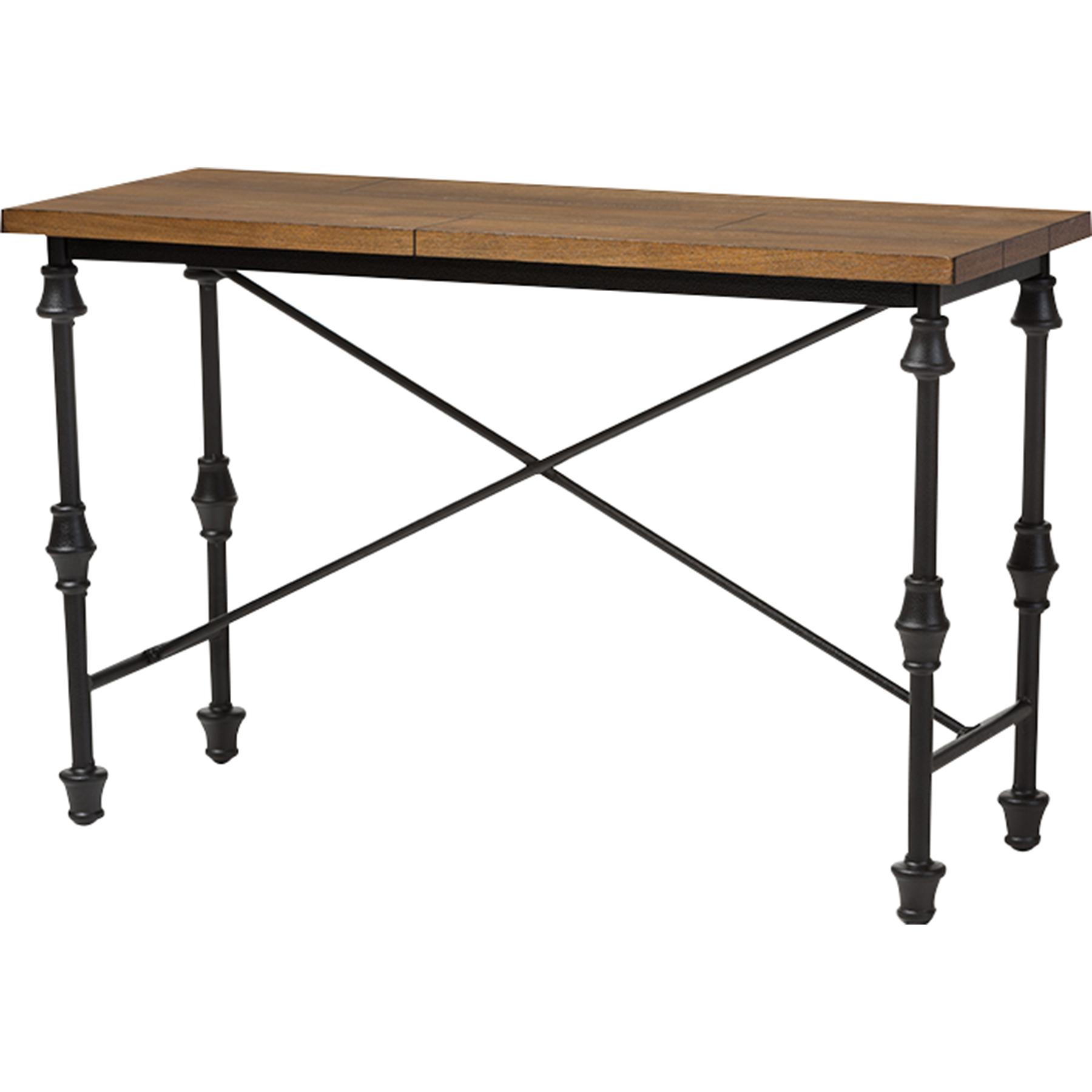 black sofa table. Julian Occasional Console Table - Brown, Black Sofa R