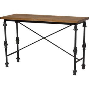 Julian Occasional Console Table - Brown, Black