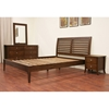 Carter 4-Piece Wooden Bedroom Set in Cocoa - WI-CARTER-4PC