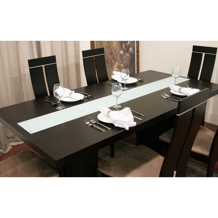 Magness Contemporary 8 Piece Dining Set - WI-MAGNESS-SET-8PC