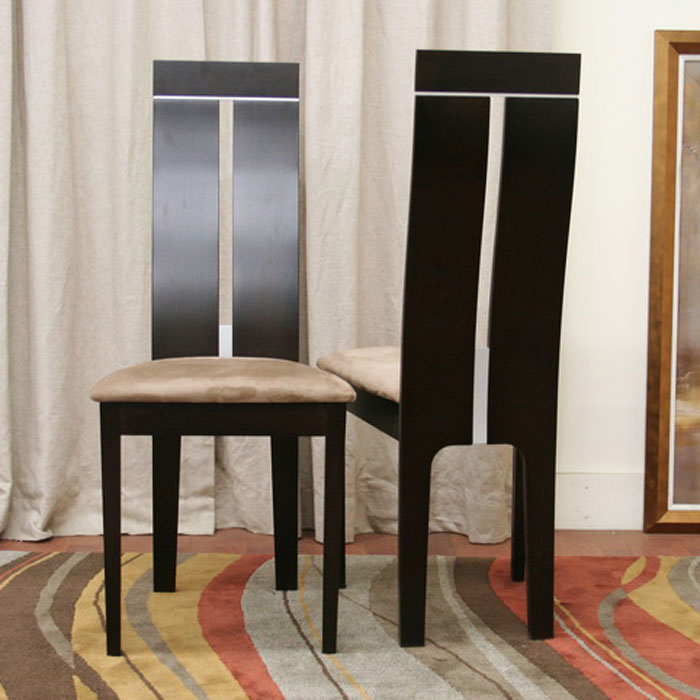 Magness Wenge Modern Dining Chair - WI-CB-2403YBH-DW10