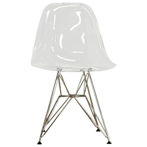 Lexy Clear Side Chair