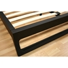 Ceni Modern Queen Bed in Ebony - WI-CENI-QUEEN-BED