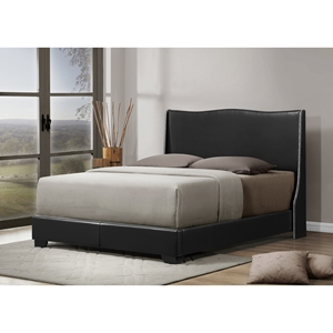 Duncombe Queen Platform Bed - Black