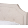Willis Upholstered Bed - Cut-Out Headboard - WI-CF8747-J-BED