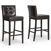 Prospect 31'' Transitional Bar Stool - Tufted, Dark Brown - WI-CH4-DARK-BROWN-PSTL