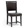 Nottingham Dining Chair - Nail Heads, Dark Brown - WI-CH6-DARK-BROWN-DC