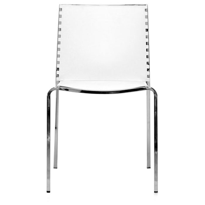 Gridley White Plastic Dining Chair - WI-DC-12-WHITE