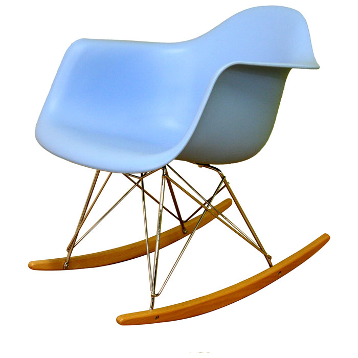 Terry Plastic Rocking Chair
