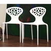 Durante White Plastic Molded Chair - WI-DC-317