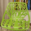 Birch Stackable Plastic Chair with Sapling Design - WI-DC-451-X