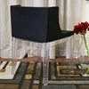 Fiore Black Dining Chair - WI-DC-493-PVC