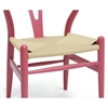 Hans Wegner Style Wishbone Dining Chair - Pink - WI-DC-541-PINK