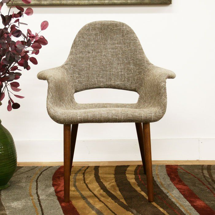 Forza Twill Mid-Century Style Chair - WI-DC-594