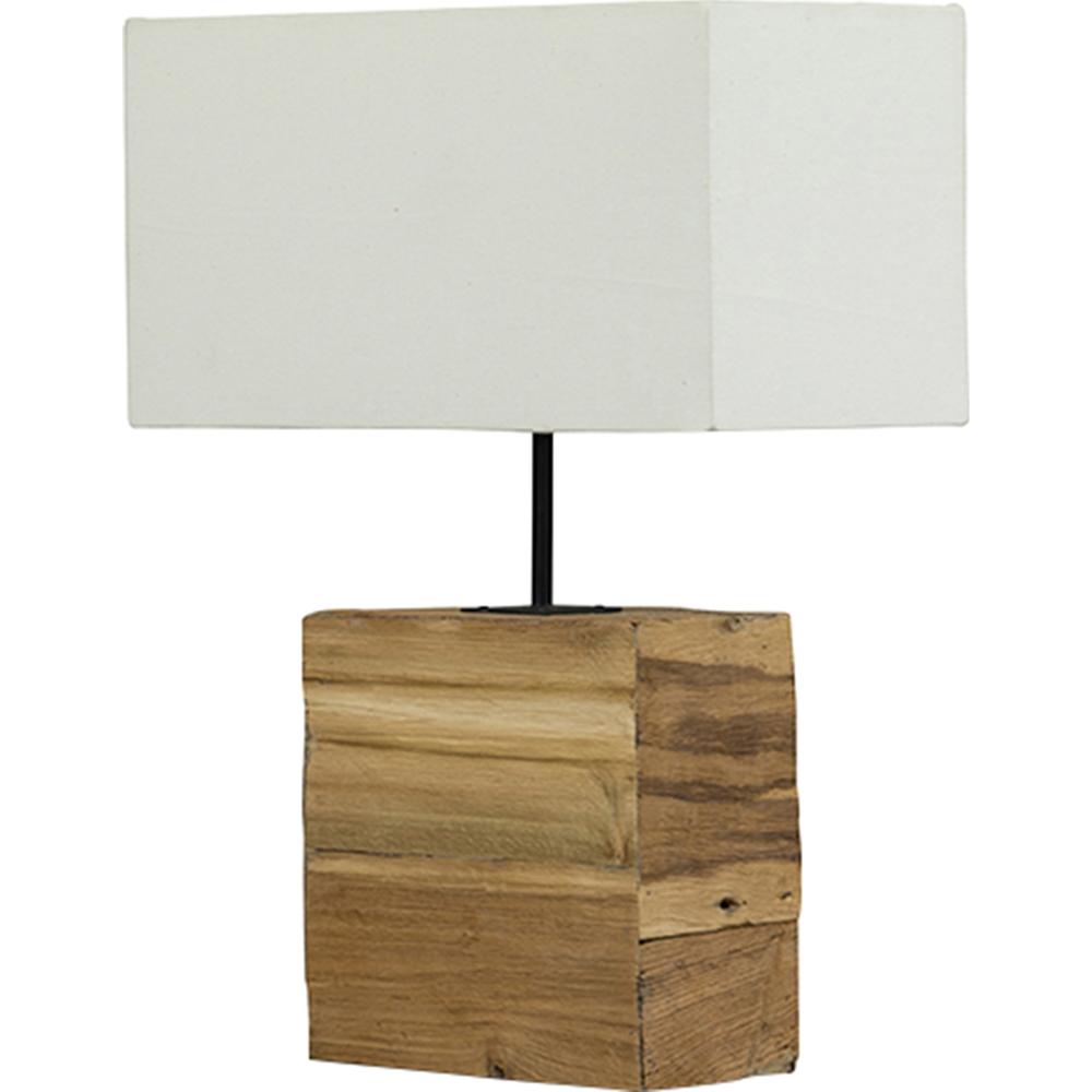 Satori Table Lamp White Light Brown Dcg Stores