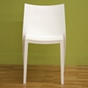 Odele White Plastic Chair - WI-DR82138
