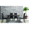 Eden Dark Brown 5 Pieces Dining Set - WI-EDEN-SET-5PC