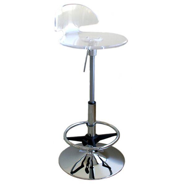 tachi clear acrylic bar stool dcg stores