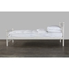 Soccer Metal Twin Bed - White - WI-FOOTBALL-WHITE-TWIN