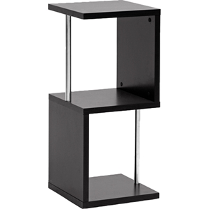 Lindy 2 Tiers Display Shelf - Dark Brown
